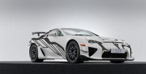 24-Stunden-Rennen von Spa Jubiläum Lexus LFA Art Car