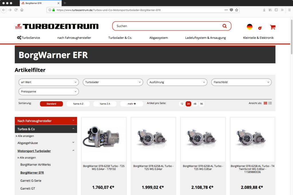 Speed-Upgrade: Das TurboZentrum beschleunigt seinen neuen Webshop