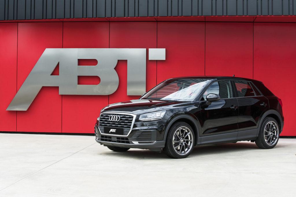 Abt Sportsline Tuning Audi Q2 Tieferlegung Leistungssteigerung Felgen