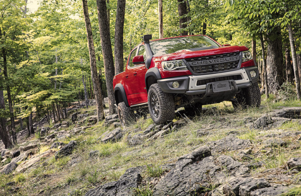 Chevrolet Colorado ZR2 Bison AEV American Expedition Vehicles Tuning Neuheit Offroad Allradantrieb
