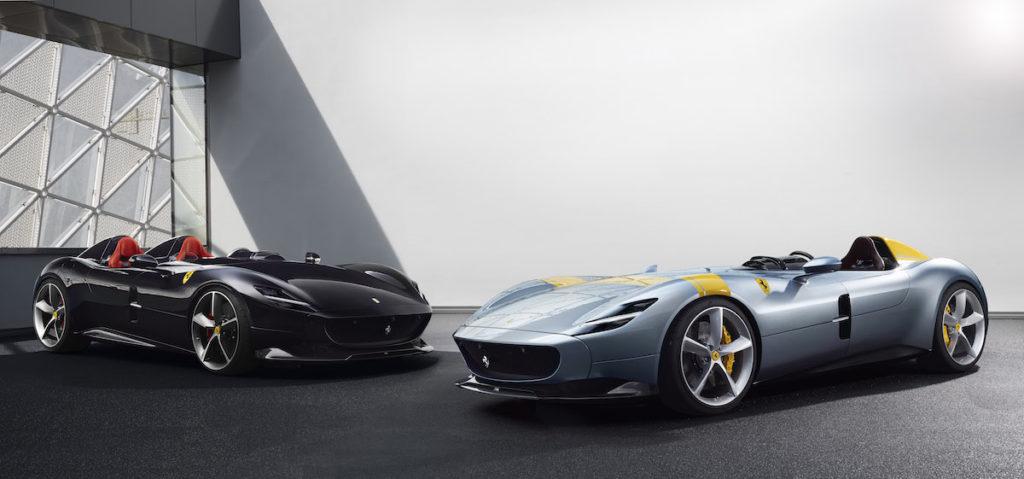 Neuheiten Barchettas Sportwagen Einsitzer Zweisitzer Ferrari Monza SP1 Ferrari Monza SP2