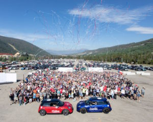 Bright Box MINI TAKES THE STATES Connected Car online Vernetzung App Informationen Rallye Event