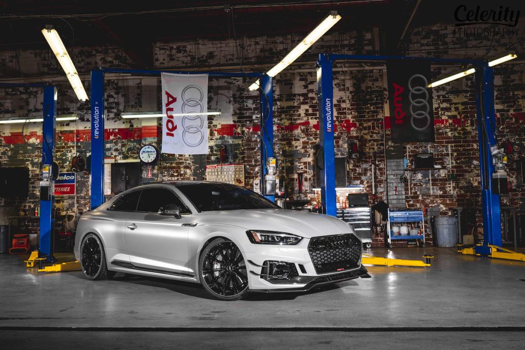 SEMA Show 2018 Las Vegas USA Tuning Messe Premiere Vorstellung Audi Abt RS5-R Felgen Bodykit Leistungssteigerung