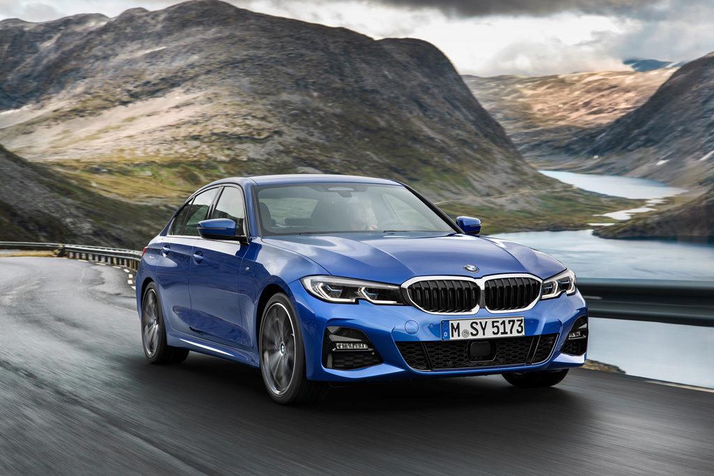 Pariser Autosalon 2018 Mondial de l'Automobile Premiere Vorstellung Neuheit BMW 3er G20 Limousine