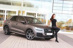 Audi Q2 SUV Barracuda Racing Wheels Virus Felge 20 Zoll Model Sabrina Doberstein