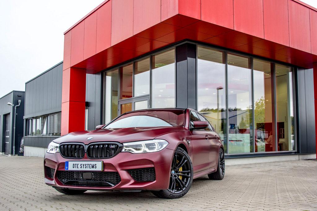 DTE Systems: knapp 700 PS für den BMW M5!