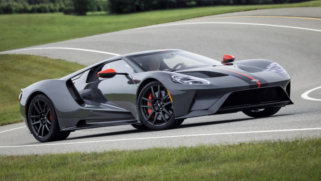 Leichtbau Sondermodell Ford GT Carbon Series Supersportwagen USA