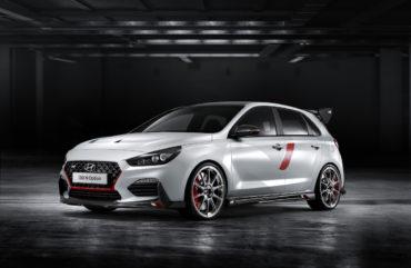 Mondial de l'Automobile Pariser Autosalon Hyundai i30 N Option Konzeptfahrzeug Kompaktsportler Hot Hatch