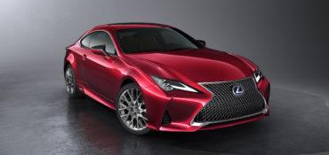 Mondial de l'Automobile Neuheit Premiere Vorstellung Lexus RC Facelift Modellpflege Coupé Mittelklasse