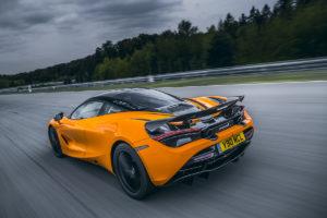 McLaren 720S Track Pack Mittelmotor Sportwagen Neuheit Rundkurs Rennstrecke Motorsport