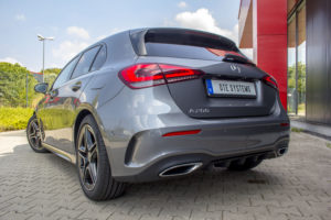 Mercedes A 200 DTE-Systems