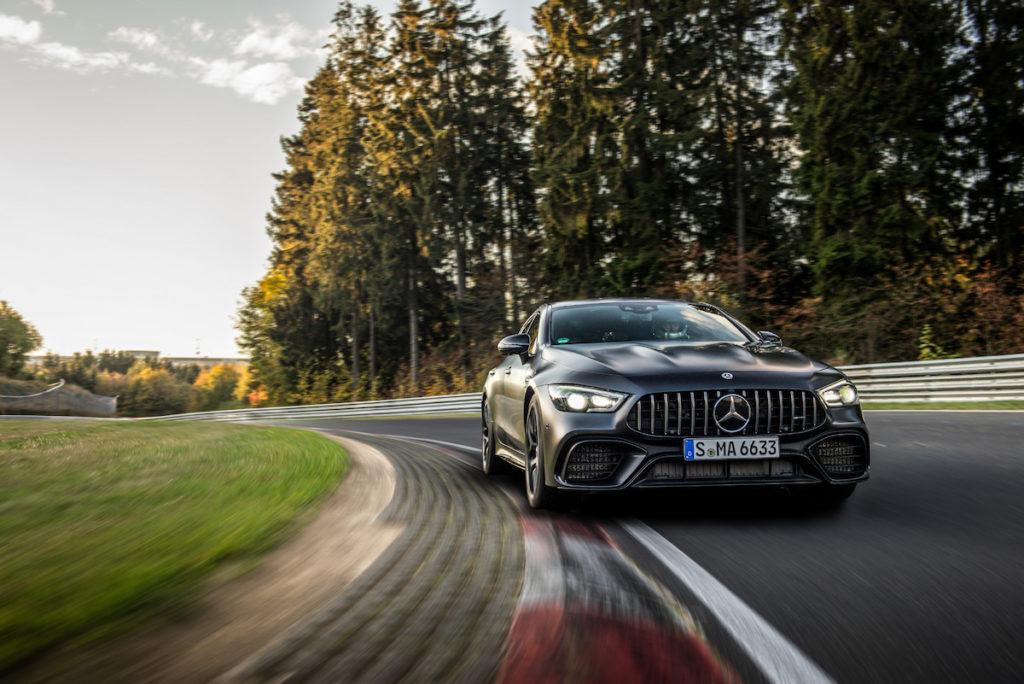 Nürburgring-Nordschleife Rundenrekord schnellster Viersitzer Mercedes-AMG GT 4-Türer Coupé