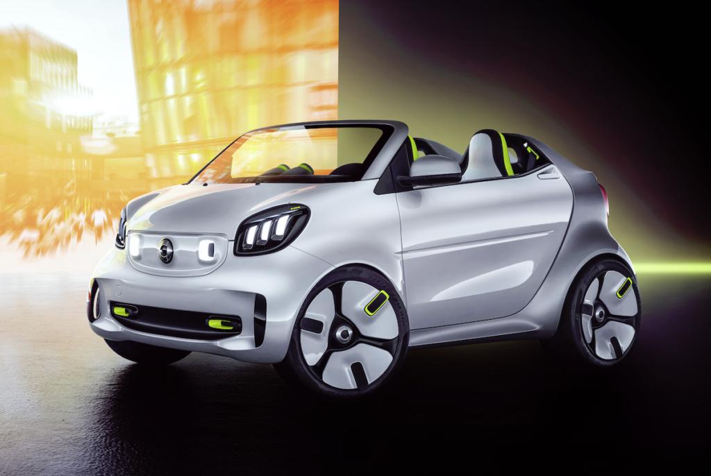 Smart Forease Studie Roadster Einzelstück Showcar Pariser Autosalon
