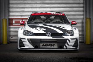 SEMA Show 2018 Las Vegas Showcar Volkswagen Golf R Tuning Breitbau Bodykit Leistungssteigerung APR Golf RLMS