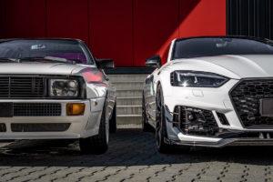Generationentreffen Audi quattro RS 5 Tuning Sportcoupés Abt RS5-R