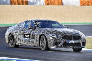 Estoril Rennstrecke Testfahrt Entwicklung BMW M8 Prototyp