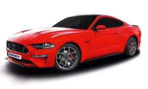 Für die aktuelle Facelift-Generation des Ford Mustangs, immerhin der meistverkaufte Sportwagen in Deutschland, haben die Felgenspezialisten von Borbet ab sofort ihr Y-Rad