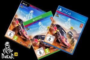 PC PS4 Xbox One offizielles Videospiel Game Dakar 18 Rallye Dakar Verpackungen