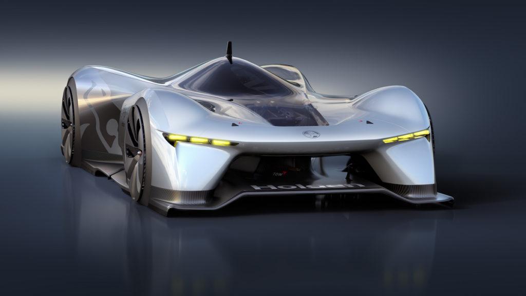 Holden Time Attack Concept virtueller Rennwagen Sportwagen Elektroantrieb E-Motor Australien GM Rennstrecke Rundkurs