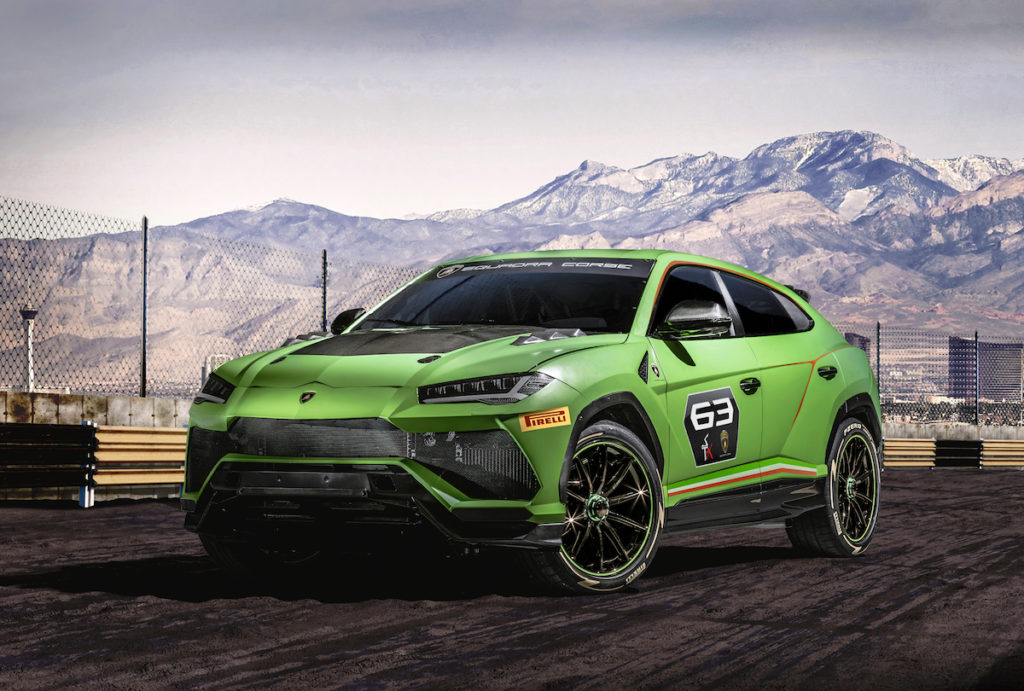 Lamborghini Studie Concept Car Markenpokal Rennwagen Motorsport Urus ST-X Concept Allradler Offroad SUV Sportwagen