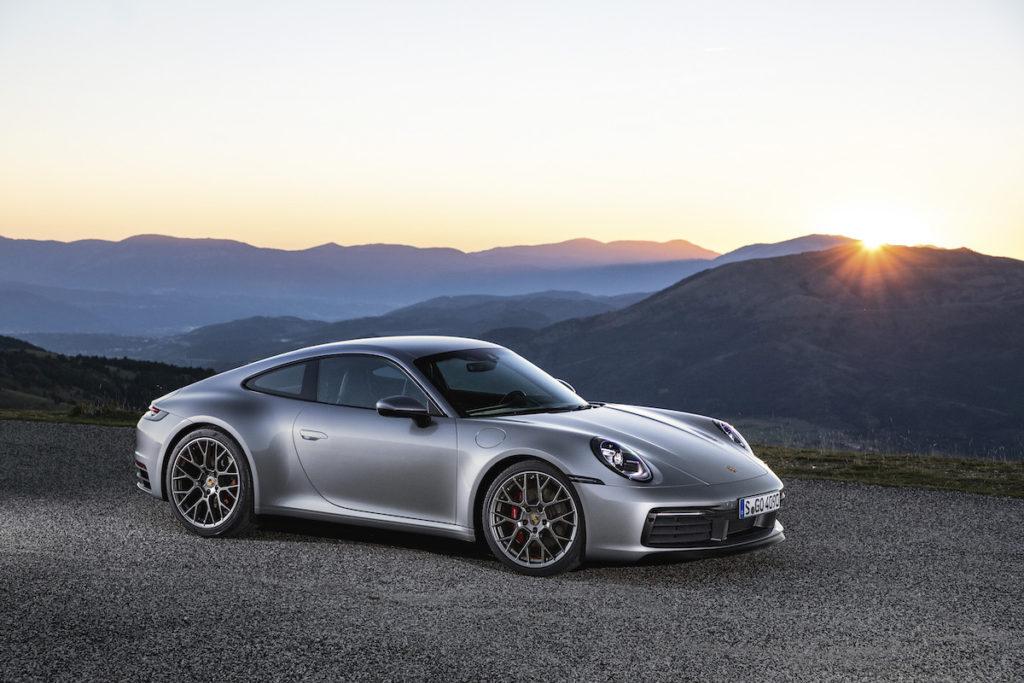 L.A. Autoshow Los Angeles USA Premiere Neuheit Porsche 911 Carrera S Carrera 4S 992 Coupé