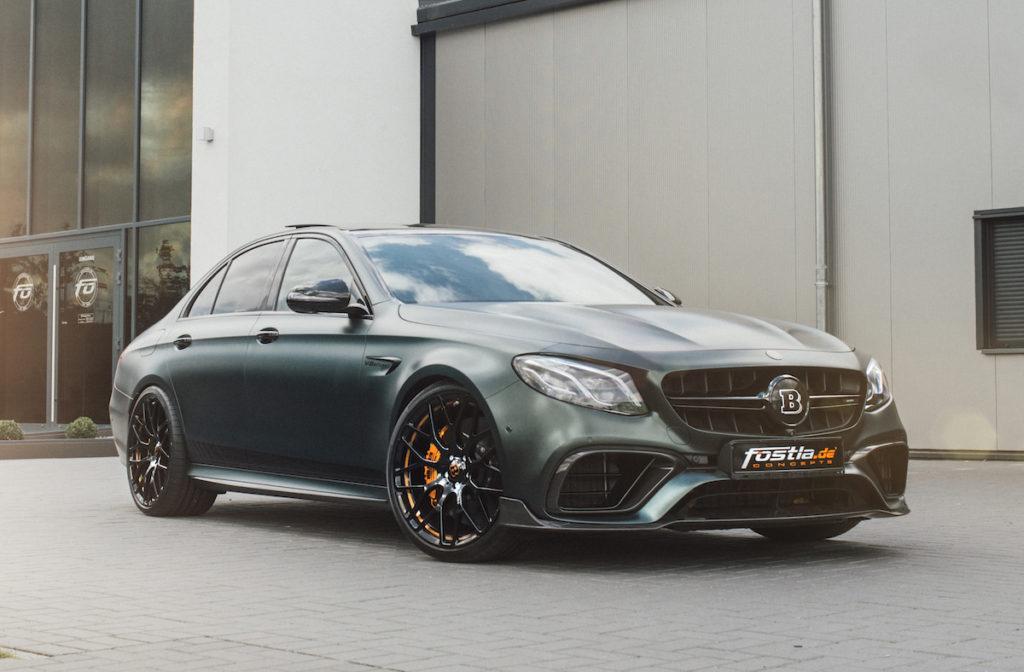 Mercedes-AMG E 63 S 4Matic+ Brabus 800 fostla.de Tuning Folierung Leistungssteigerung Bodykit Carbon