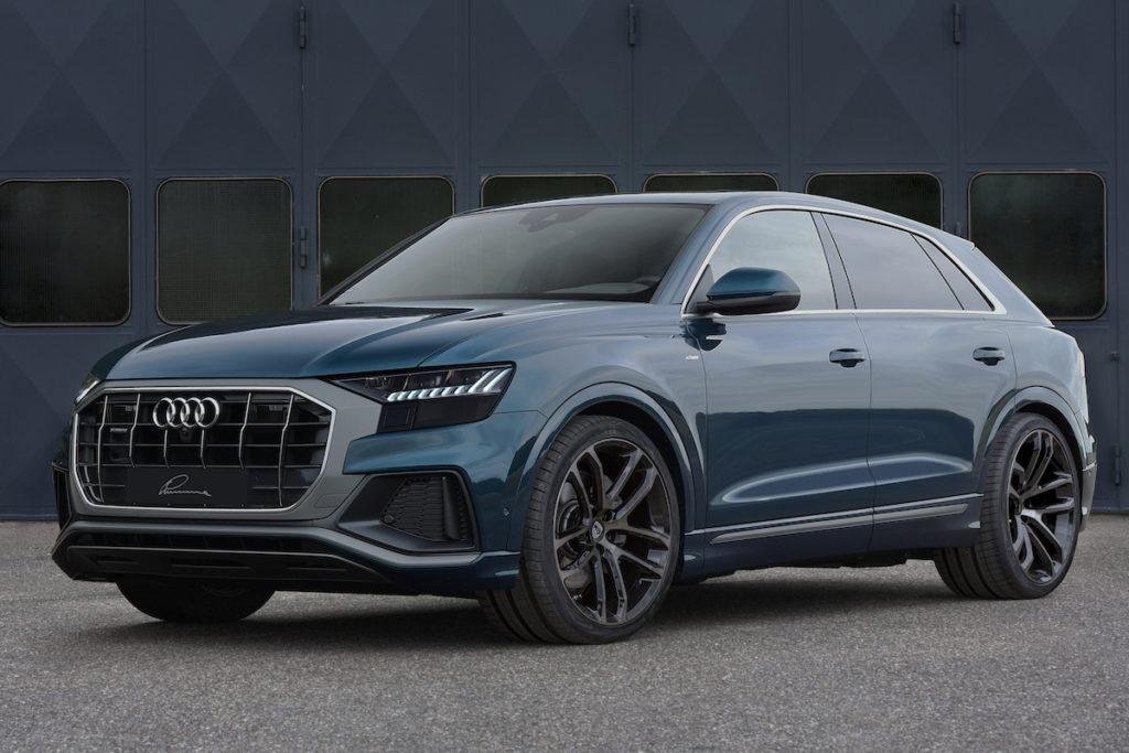 Lumma CLR Felge Leichtmetallrad Tuning Audi Q8 SUV Coupé