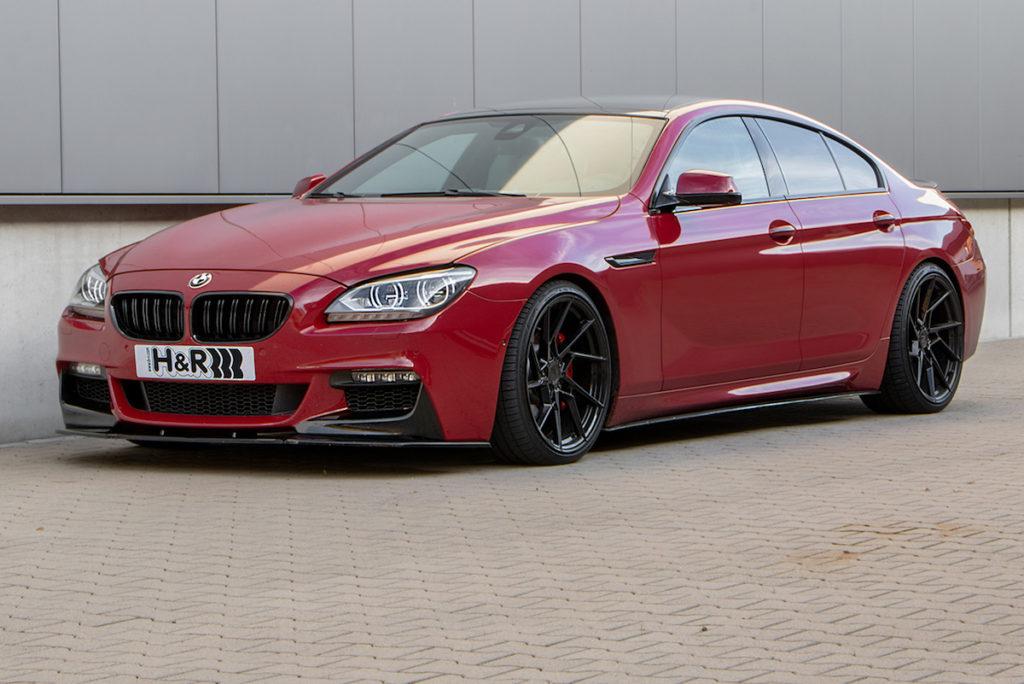 H&R Fahrwerk Tieferlegung Federsatz Gewindefedern BMW 6er Gran Coupé F06 Viertürer Z-Performance Felgen Räder