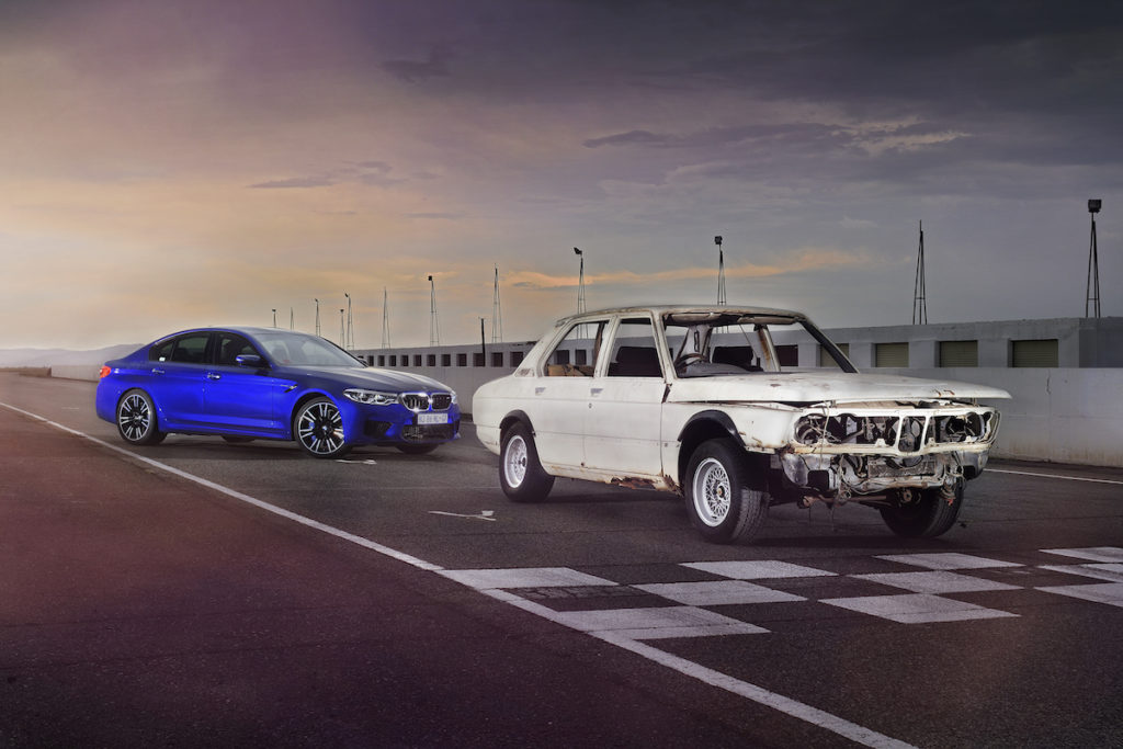 Südafrika Homologation Sondermodell Sportlimousine BMW E12 530 MLE Restauration