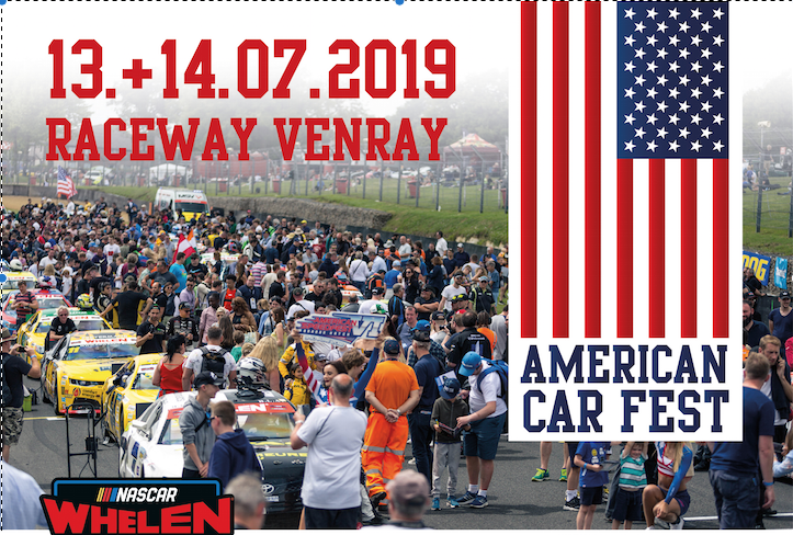 Place to be 2019: American Car Fest!