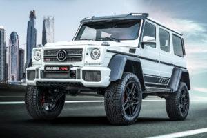 """Mercedes-Benz G 500 4x4² Tuning Leistungssteigerung Felgen Brabus 700 4x4² """"one of ten"""" Final Edition"""