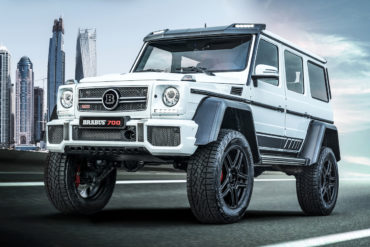 "Mercedes-Benz G 500 4x4² Tuning Leistungssteigerung Felgen Brabus 700 4x4² ""one of ten"" Final Edition"