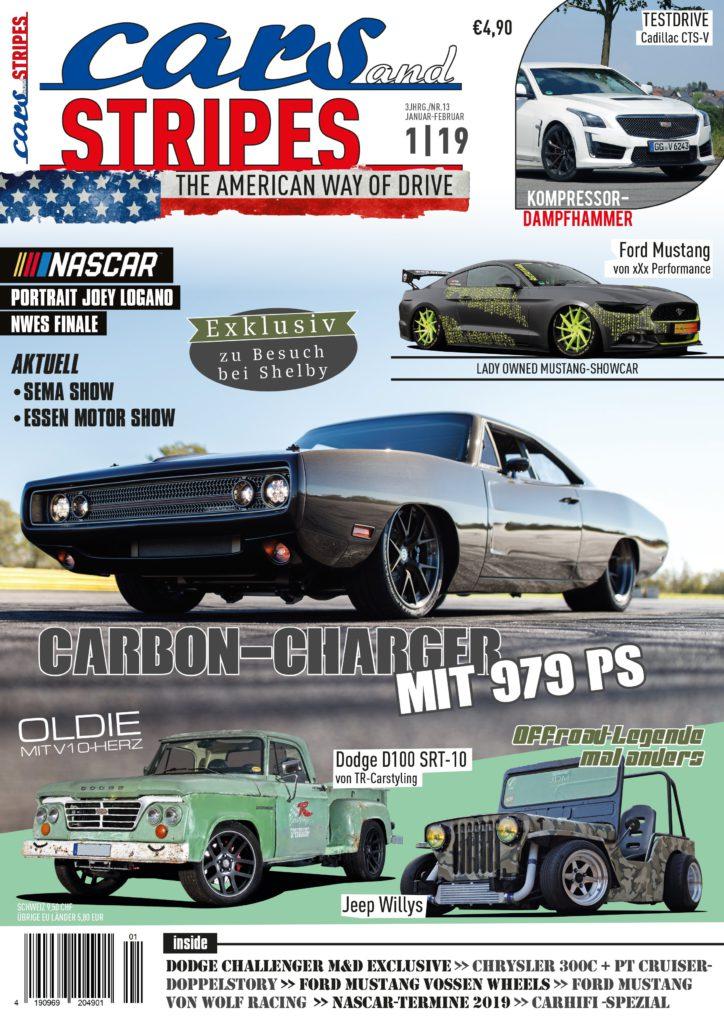 Jetzt neu: Cars & Stripes 1-2019!