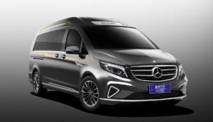 Xingchi Automobiles China Veredlung Luxusliner Italdesign Vulcanus Van Großraumlimousine Luxusliner Business-Shuttle Mercedes-Benz V-Klasse 447 V 260 L