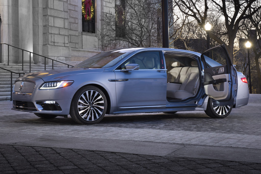 US_Car-Luxuslimousine Lincoln Continental Jubiläum 80th anniversary Coach Door Edition limitiert Neuheit 2019