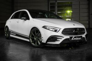 Essen Motor Show 2018 messe Premiere Lorinser Mercedes-Benz A 250 W177 A-Klasse Tuning Bodykit Felgen Leistungssteigerung