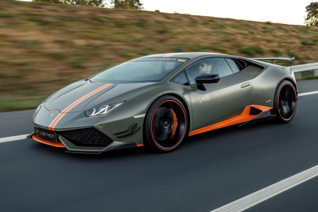 Sportwagen Mittelmotor Sant'Agata Bolognese Lamborghini Huracán Avio LP610-4 Luethen Motorsport Tuning Veredlung Carbon