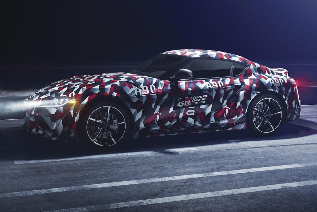 NAIAS 2019 Sportcoupé Toyota Supra Reihensechszylinder Teaser Neuheit Premiere