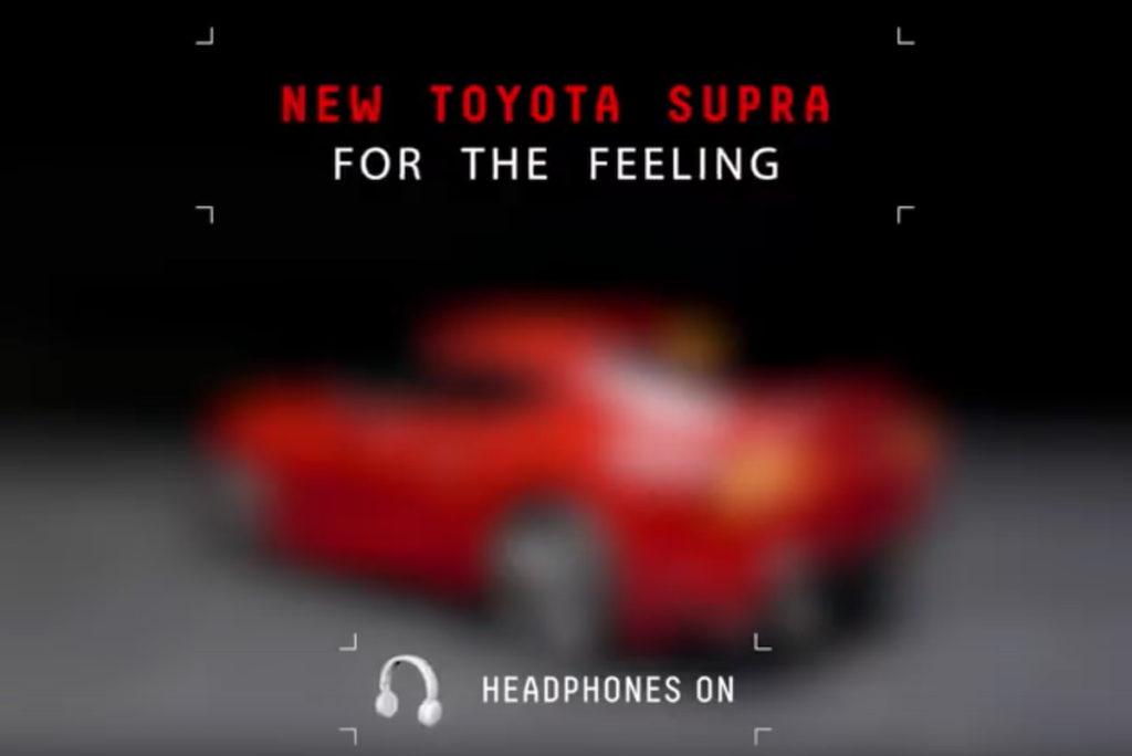 NAIAS 2019 Premiere Neuheit Toyota Supra Sportcoupé Teaser-Video Reihensechszylinder Motor Sound