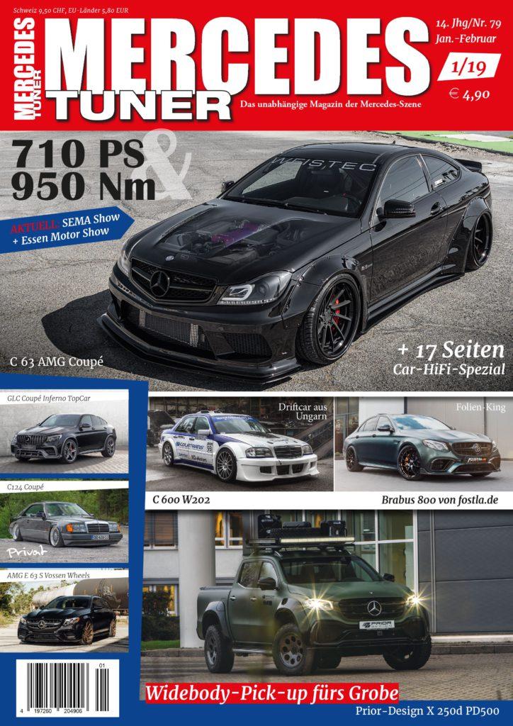 Jetzt bestellen: Neue Mercedes Tuner 1-2019!