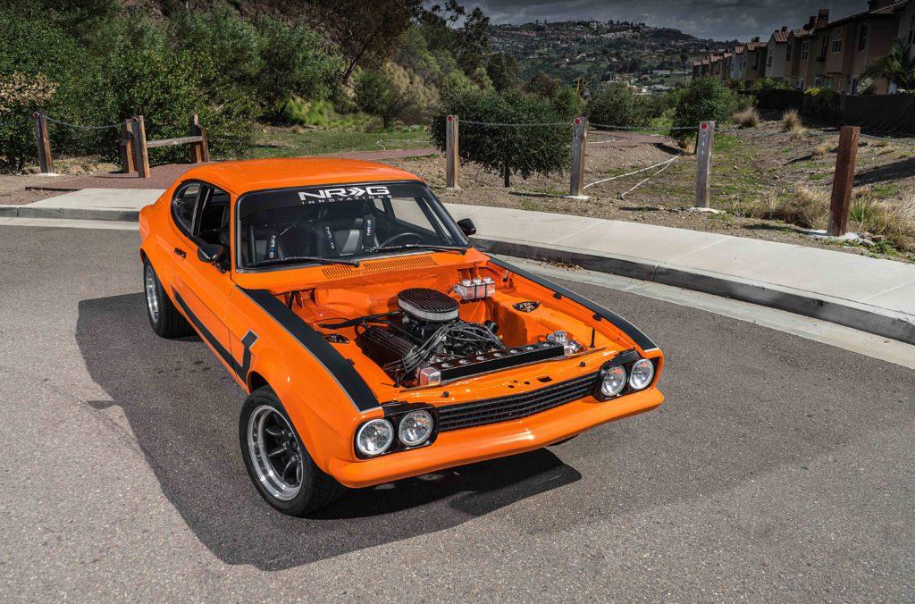 V8 im Ford Capri