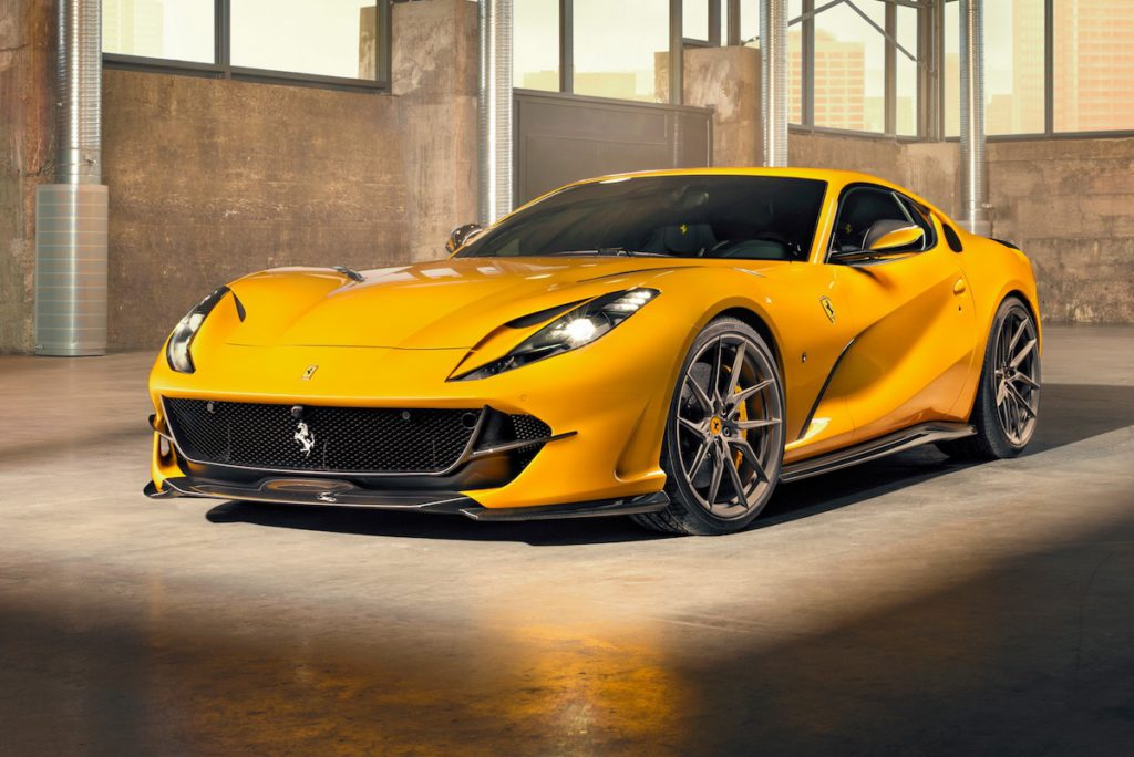 Novitec Group Veredlung Individualisierung Tuning Sportwagen Coupé Ferrari 812 Superfast