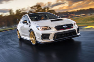 NAIAS 2019 Detroit North American International Auto Show Premiere Neuheit Sportlimousine Subaru WRX STI S209