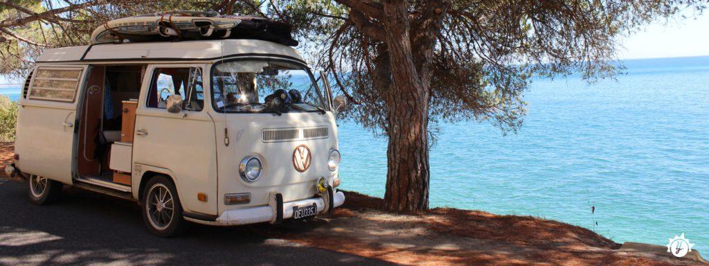 Yescapa Urlaub im Bulli T2 Marseille Frankreich Carsharing Vermietung