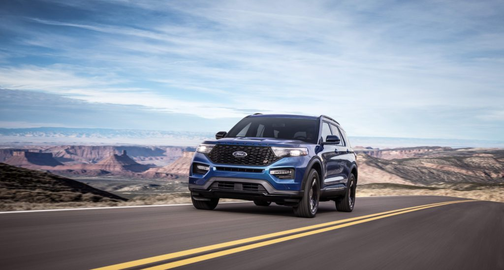 2020er Ford Explorer ST