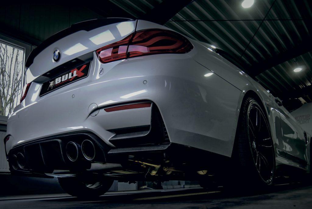 EGO X Anlage BMW M3/M4 HG Motorsport