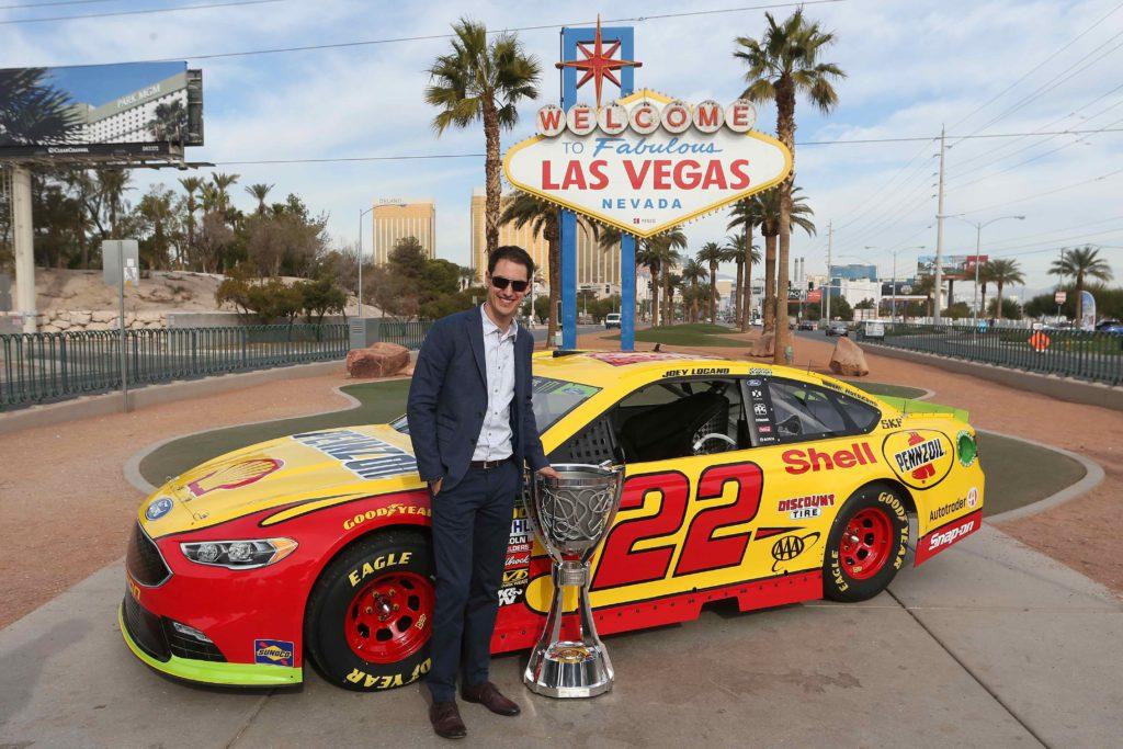 NASCAR Champion 2018 Joey Loganoi