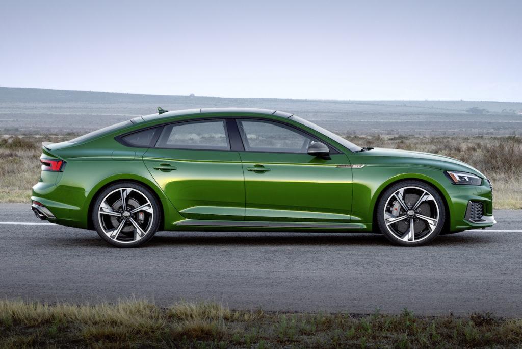 Europastart Bestellfreigabe Neuheit Audi RS 5 Sportback Topmodell Coupé Fünftürer Biturbo V6