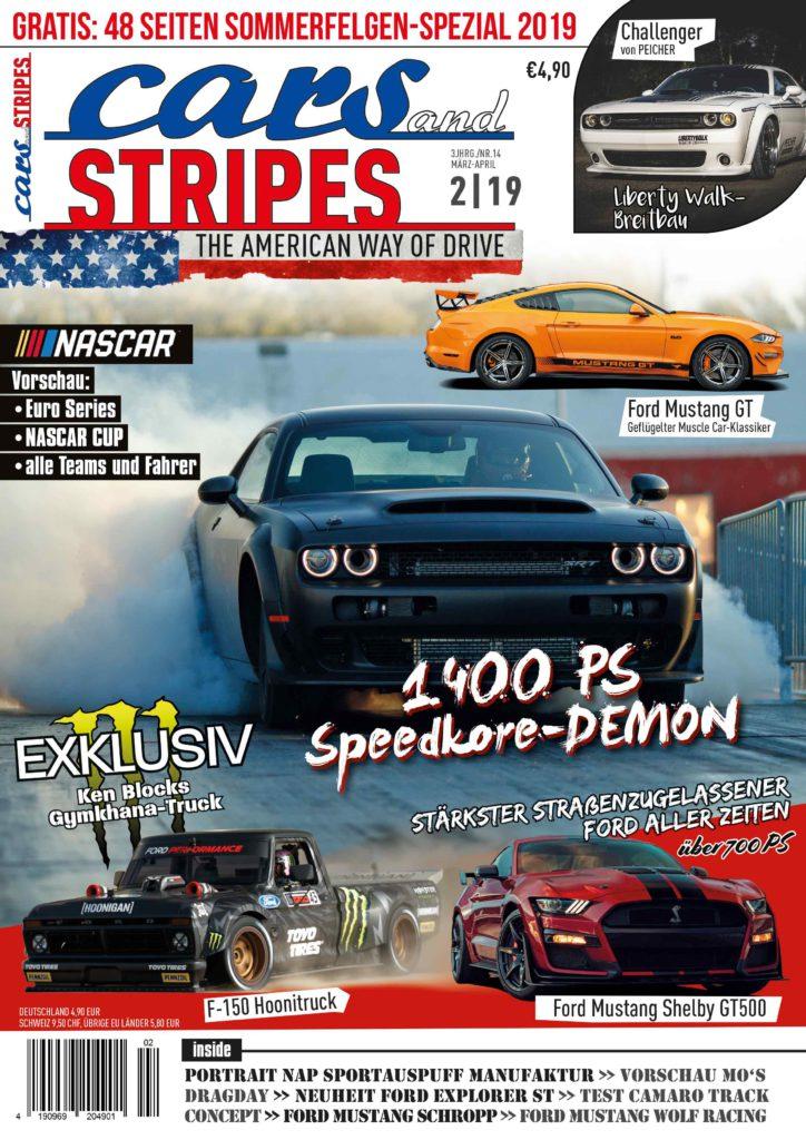 Jetzt bestellen: Neue Cars & Stripes Ausgabe 2-2019!