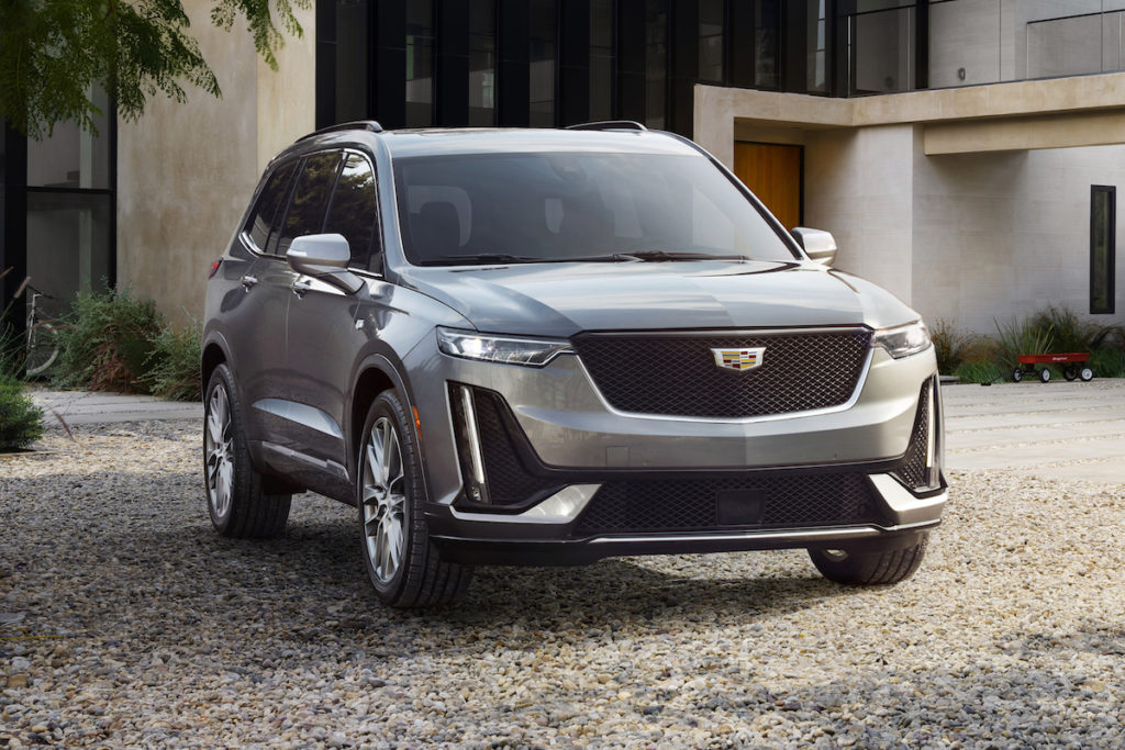 North American International Auto Show NAIAS 2019 Neuheit Premiere Cadillac XT6 SUV Siebensitzer